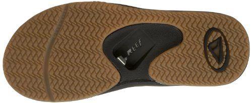 76379e8cd188 כפכפים עם פותחן בירה בסוליה Amazon.com  Reef Men s Fanning Sandal  Shoes