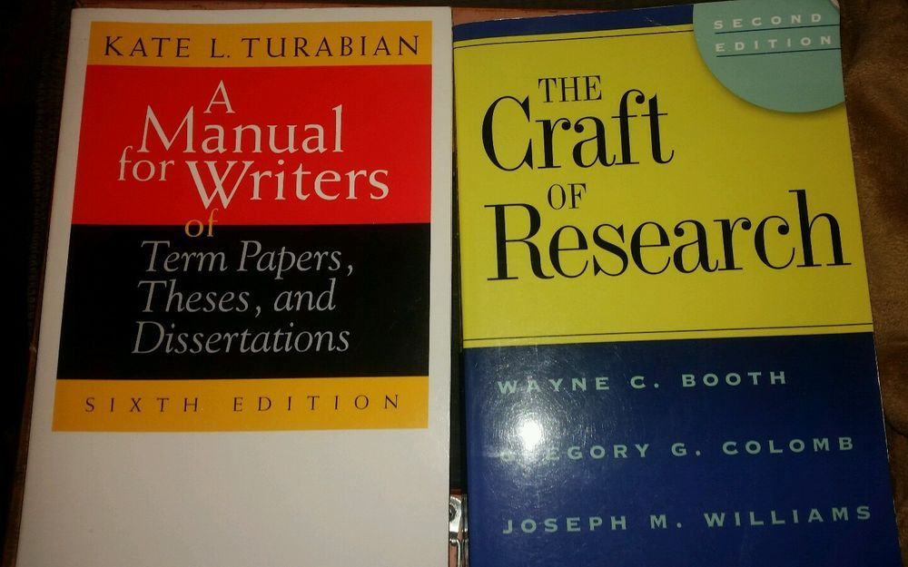 A Manual For Writer Of Term Paper These And Dissertation Craft Research Thesis Dissertations