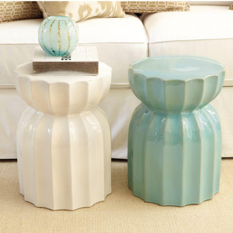 Superb Lotus Garden Seat | Home Accessories | Ballard Designs $119
