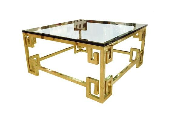Nice Greek Key Coffee Table   John Salibello