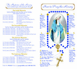 How to Pray the Rosary Pamphlet Printable | Saying the ...