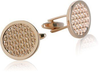 Woven Cufflinks in Rose Gold Cuff-Daddy. $29.99. Arrives in hard-sided, presentation box suitable for gifting.. Made by Cuff-Daddy. Save 57% Off!