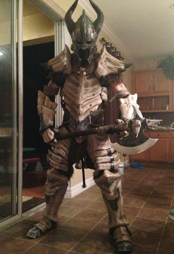 Skyrim Fan Creates Realistic Dragonplate Armor Costume - News - .GameInformer.com & Skyrim Fan Creates Realistic Dragonplate Armor Costume - News - www ...