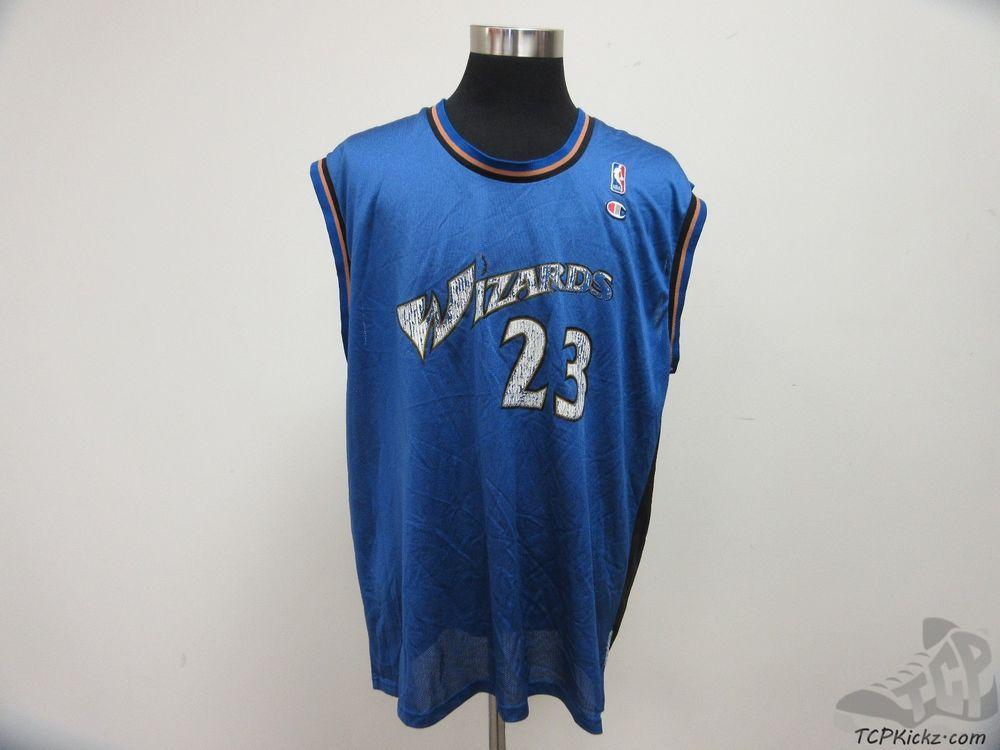 9c1a9a53a Vtg 90s Champion Washington Wizards Michael Jordan Jersey 23 sz XL Extra  Large  Champion  WashingtonWizards  tcpkickz