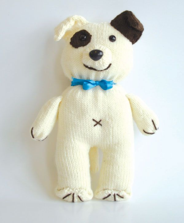 Sad the Dog Free Knitting Pattern | Toys | Pinterest