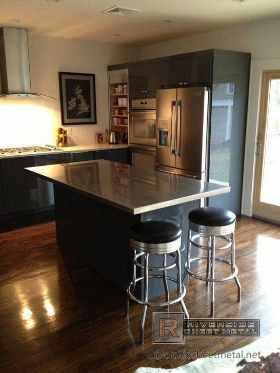 99 Stunning Stainless Steel Kitchen Tables Ideas ...