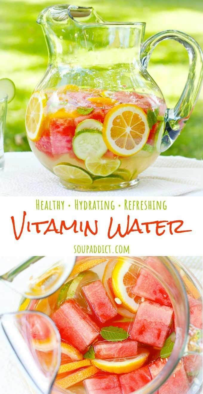 Homemade Vitamin Water | Fruit-Infused Water | SoupAddict