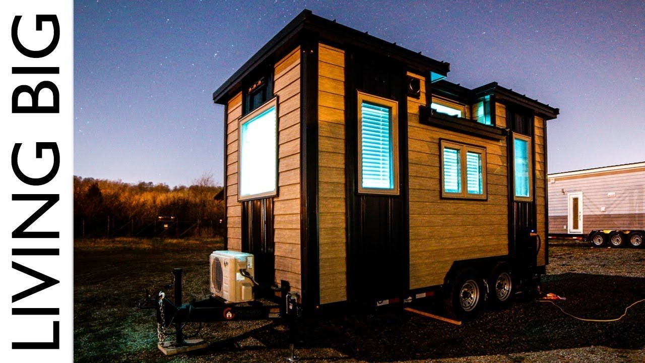 Living Big In A Tiny House Our Traveling Tiny Home In North America Tiny House Big Living Tiny House On Wheels Small Tiny House