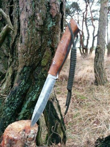 Bark River knives and tools aurora mosaic pin and iron wood