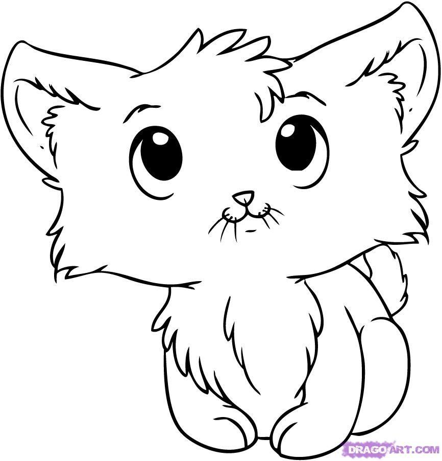 Line Drawing Kitten : Cartoon kitten google search wind chimes pinterest