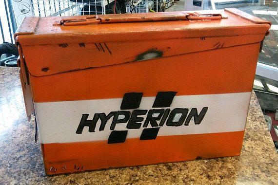 Borderlands Hyperion Lunch Box Ammo Box Ammo Box Lunch Box