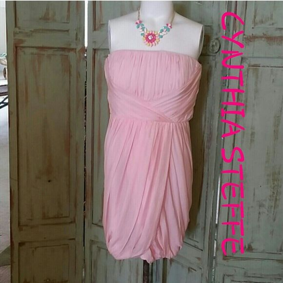 👇 JUST REDUCED NWT CYNTHIA STEFFE PINK New. Fully lined, built in ...