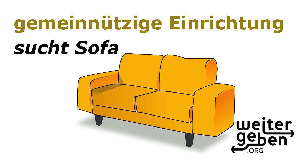 Suchen Zwei Sofas Und Ein Sessel In Berlin G144 1 Sachspenden Sofa