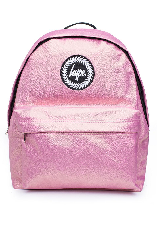 Pink Glitter Backpack by Hype | Mini sac à dos, Sac, Mini sac