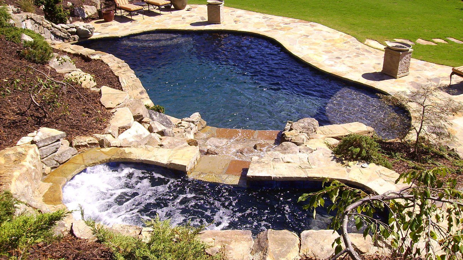 Aqua Design Pools & Spas, LLC. - Natural   Pool ideas   Pinterest ...