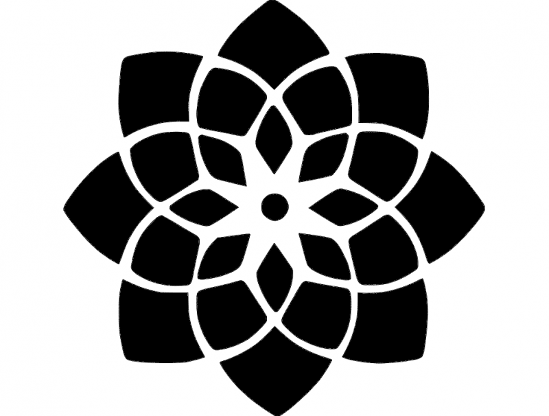 Stencil dxf File Free Download | Door | Mandala stencils