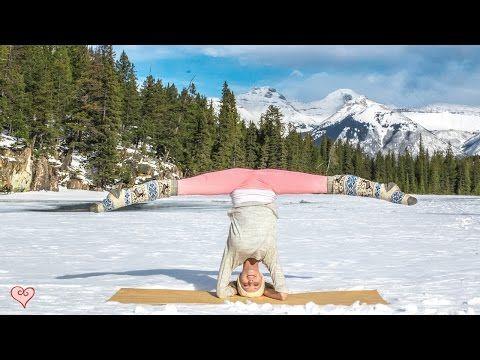 how to do a headstand ♥ yoga pose tutorial  sirsasana
