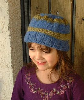 Child S Hat Use For Decrease Pattern Knitting Hat Knitting Patterns Easy Knitting