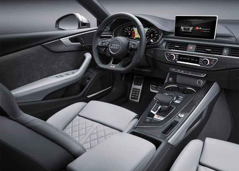 2019 2020 Audi A5 Sportback Geracao Hatchback De Cinco Portas Preco Consumo Interior E Ficha Tecnica Audi S5 Interior De Carros De Luxo Audi A