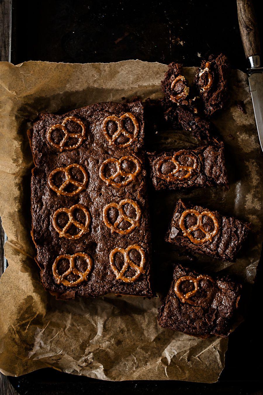 Pretzel Brownies — Gather a Table