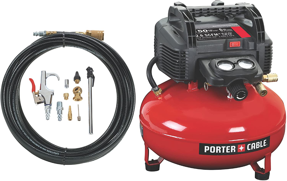PORTERCABLE Pancake Compressor with 13Piece Accessory