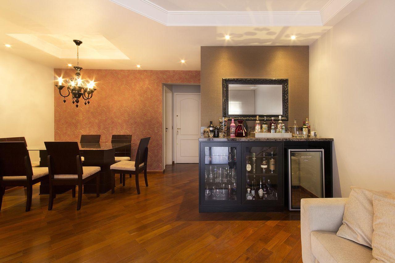Resultado De Imagem Para Barzinho Sala Moderno Bares Pinterest  -> Sala Pequena Com Barzinho