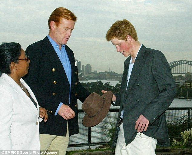 prince harry s second father mark dyergiven pride of place at concert prince harry prince harry pictures prince prince harry s second father mark