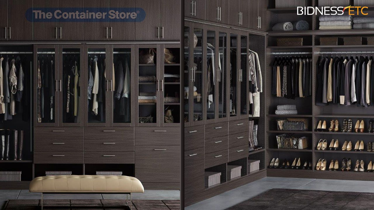 Container Store Launches Luxury Closet Line, TCS Closets