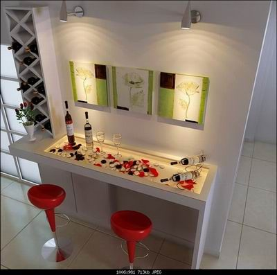 Art House | Home Bar, Art Wall, Home Decor 3ds Max Model Download Free