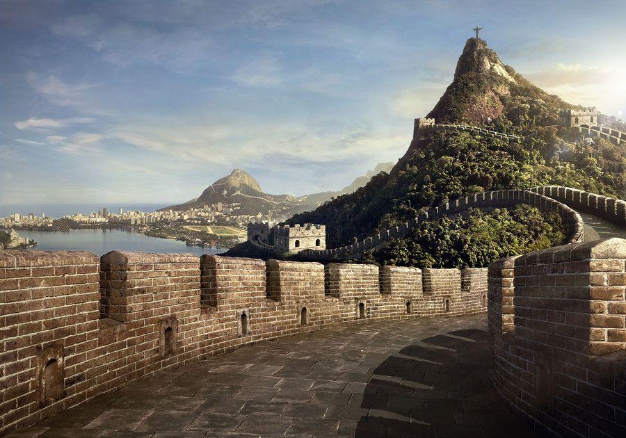 Big wall or small world...