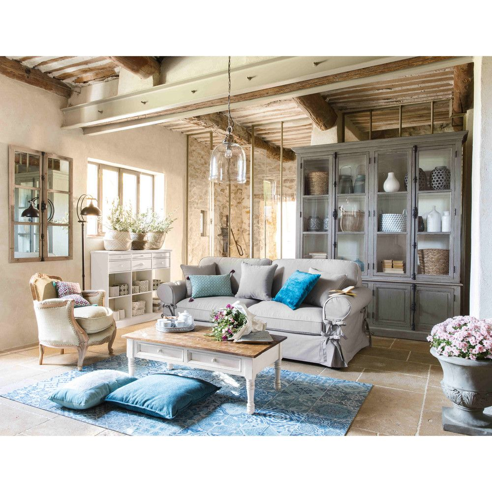 Soft Blues Give Even More Charm To A Country Cottage