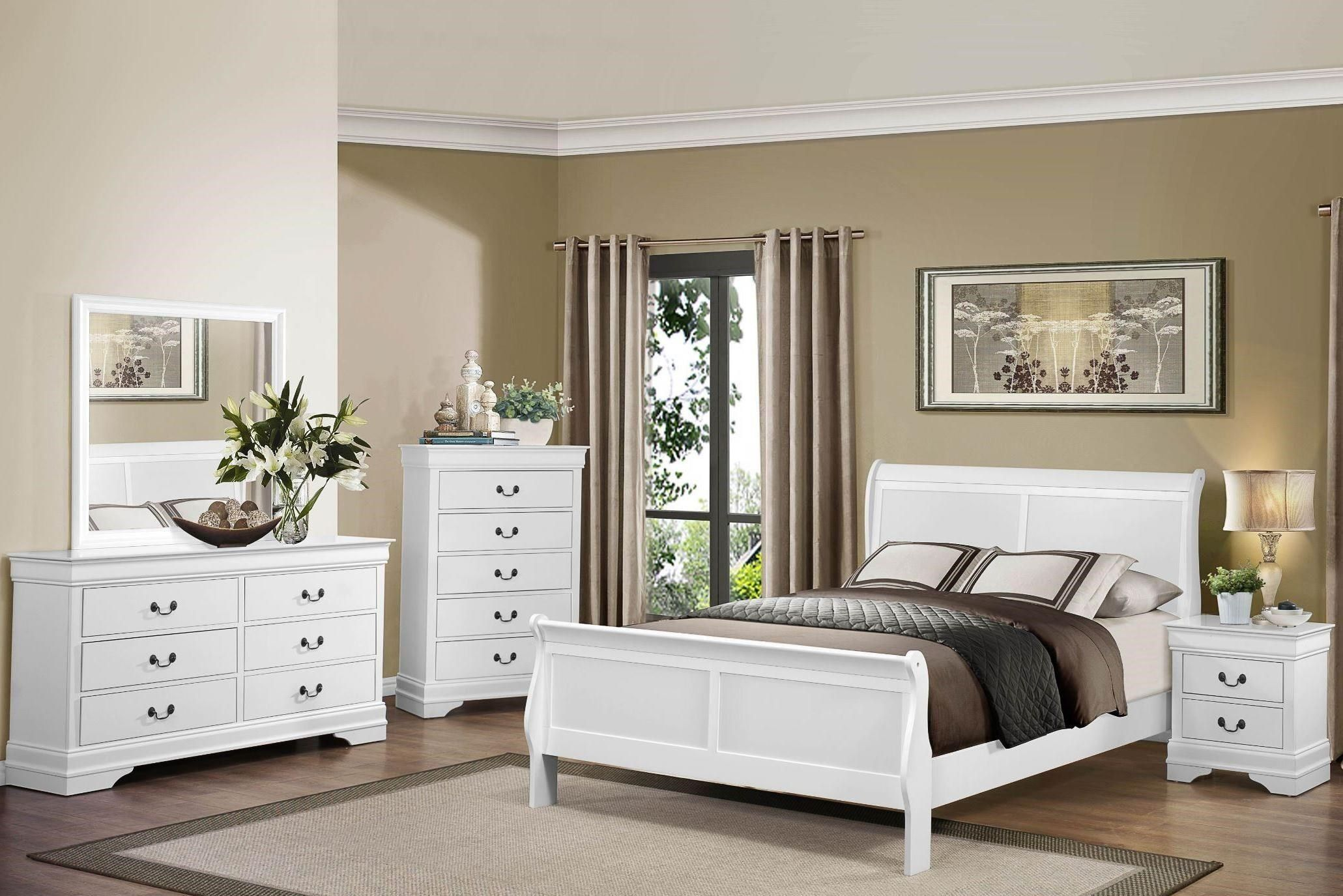 Mayville Queen White Bedroom Group By Homelegance At Great American Home Store Bedroom Sets Queen Bedroom Sets Furniture