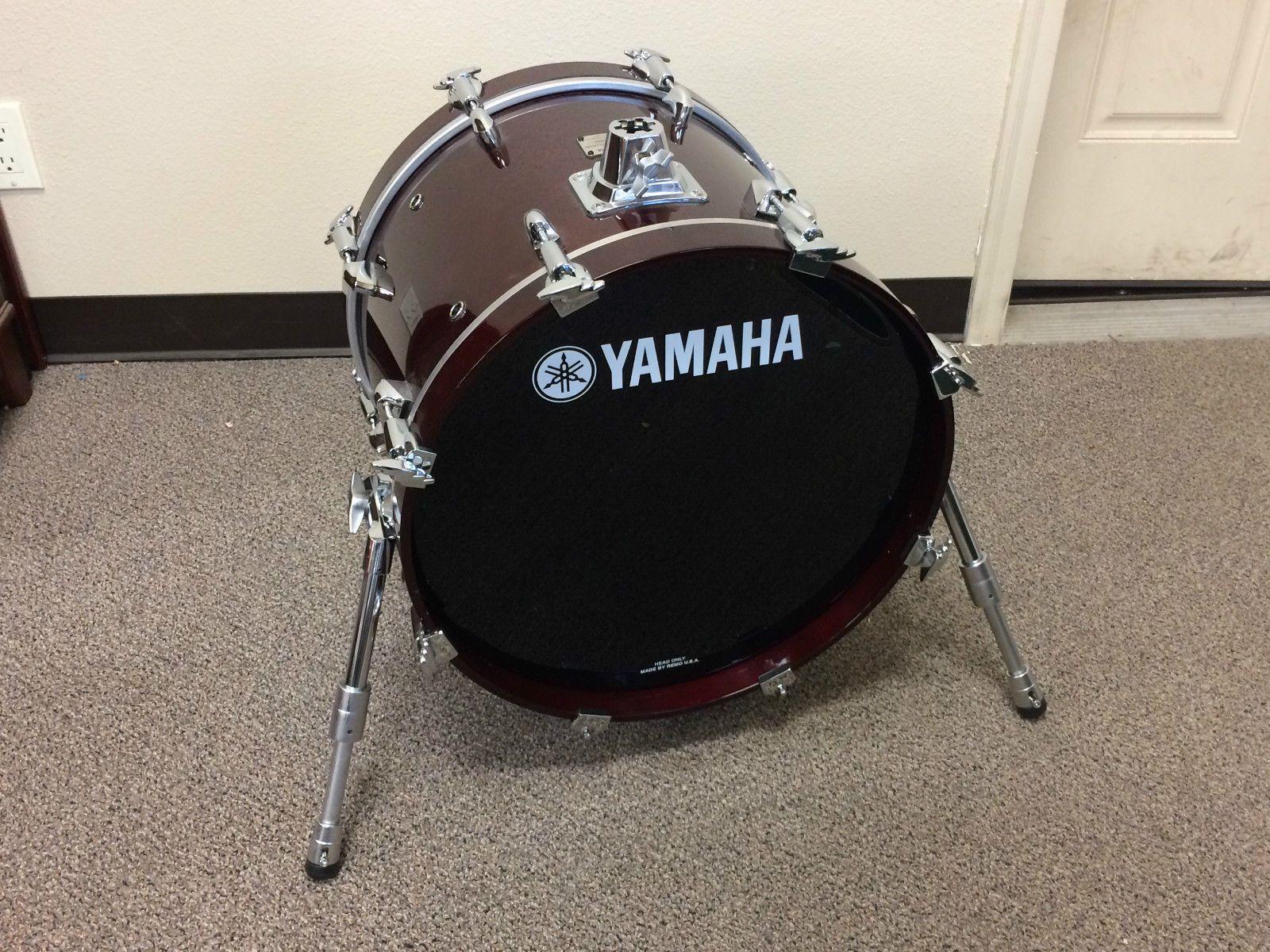 Yamaha maple custom absolute 18 x 14 bass drum riser for Yamaha portable drums
