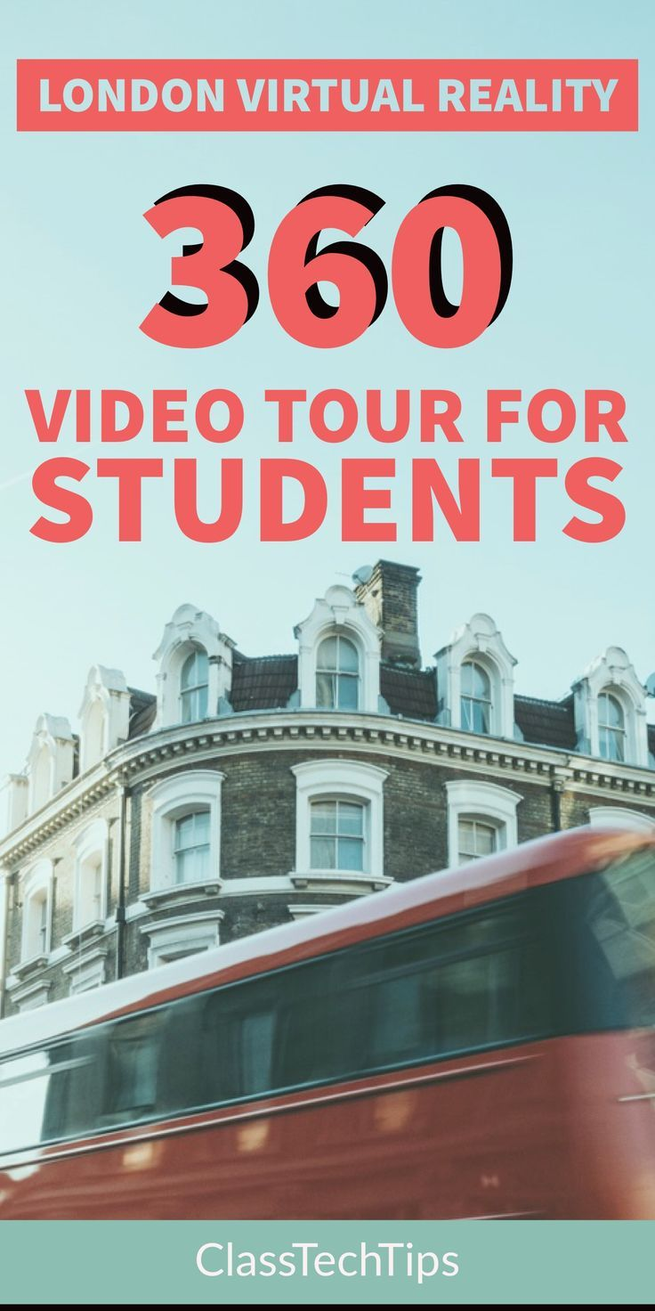 London Virtual Reality 360 Video Tour for Students Best
