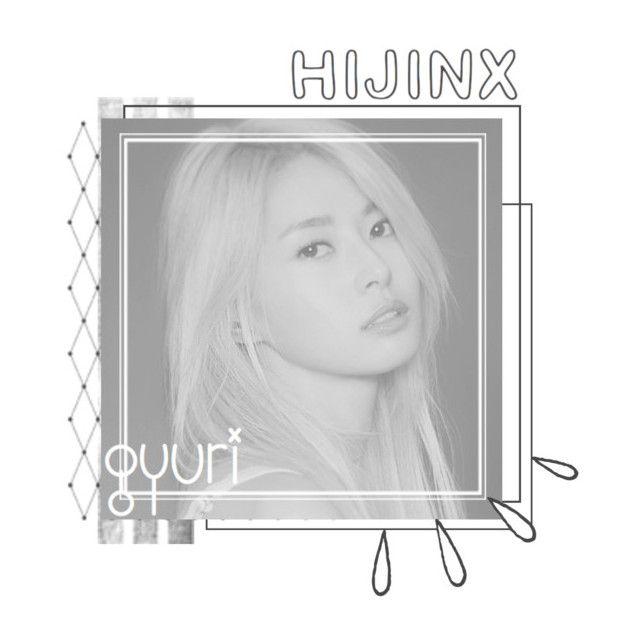 """member 05 || gyuri"" by hijinx-official ❤ liked on Polyvore featuring beauty, Old Navy, hijinxprofile, shingyuri and hijinxgyuri"