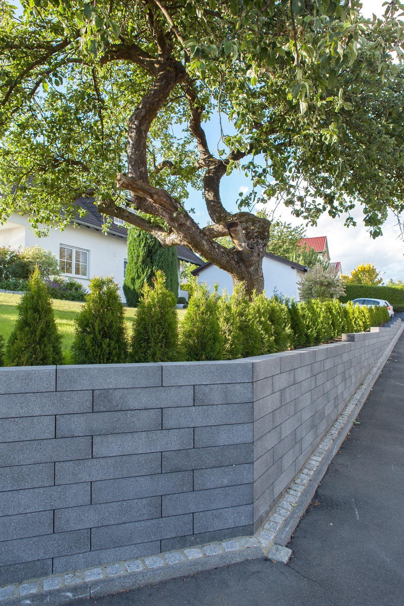 Scona Mauer Fur Die Eingrenzung Des Grundstucks Und Als