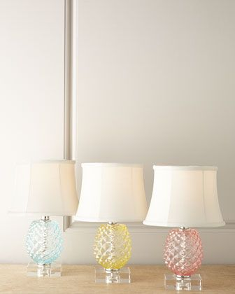 Pineapple Accent Lamp At Horchow.