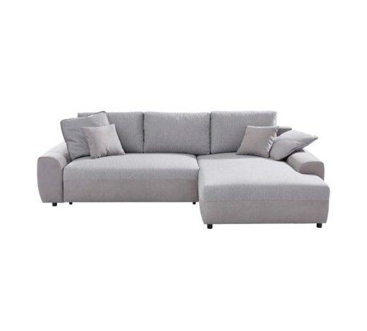 Gemutliche Wohnlandschaft Mit Schlaffunktion Relaxen In Schoner Atmosphare Ecksofa Wohnen Sofa