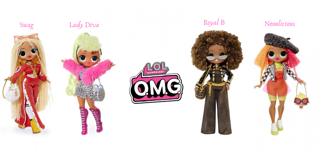 Lol Surprise Omg Dolls Swag Lady Diva Royal Bee Neonlicious Lol Dolls Dolls Diva Dolls