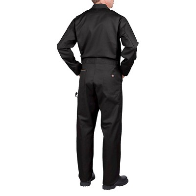 b3eb764bb90 Dickies mens big tall deluxe long sleeve blended twill coverall black tall  size durable jpg 400x400