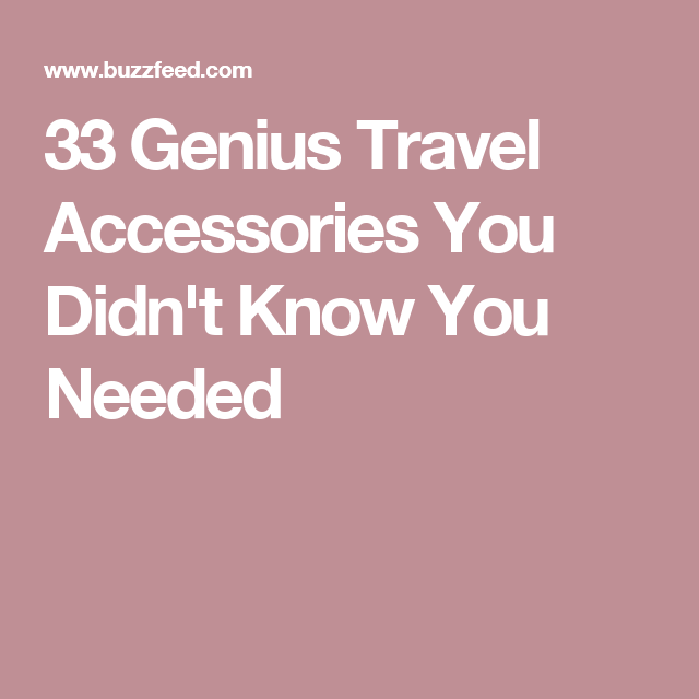 1a2a48fb2 33 Genius Travel Accessories You Didn t Know You Needed