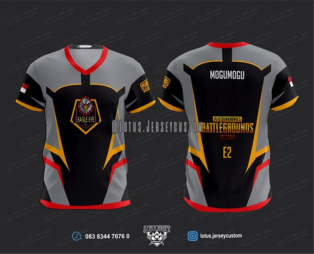 Download Pin Di Esports Jersey Template