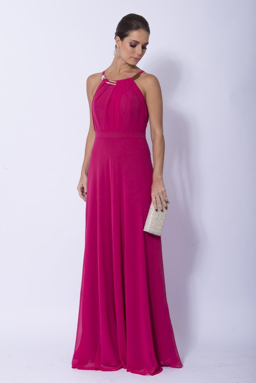 c45f0aa8d08d vestido frente unica longo de festa | Modelitos em 2019 | Vestidos ...