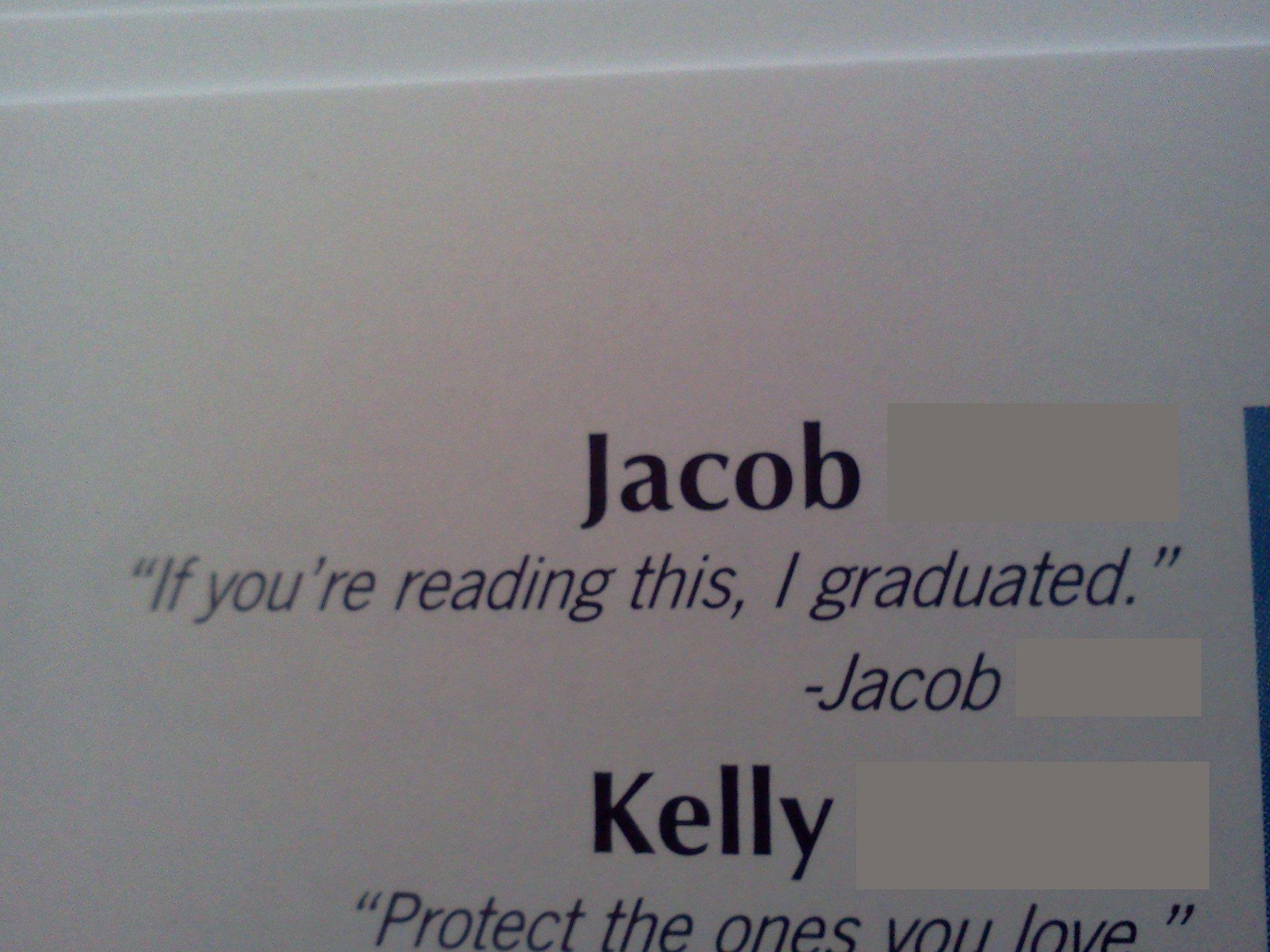 I Too Found Funny Senior Quotes In My Yearbook Teenagers Senior Quotes Funny Funny Yearbook Quotes Senior Quotes