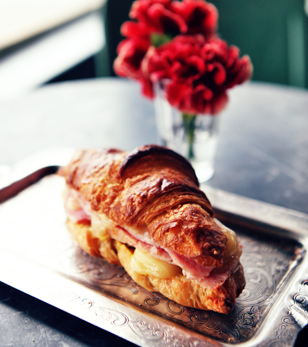 ✕ Ham & cheese croissants at Marché here in Vancouver