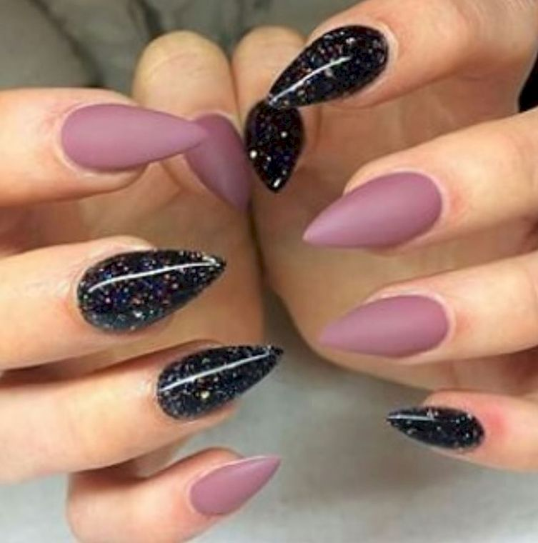 15 Magnificent Mauve Manicures To Try Out | Mauve, Manicure and Nail ...