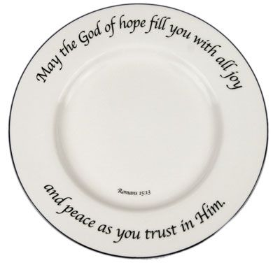 I Know This Is Expensive But I Would Love To Have At Least One Mixed Set Of The Feed On The Word China For My Kitchen Words Of Hope Christmas Plates