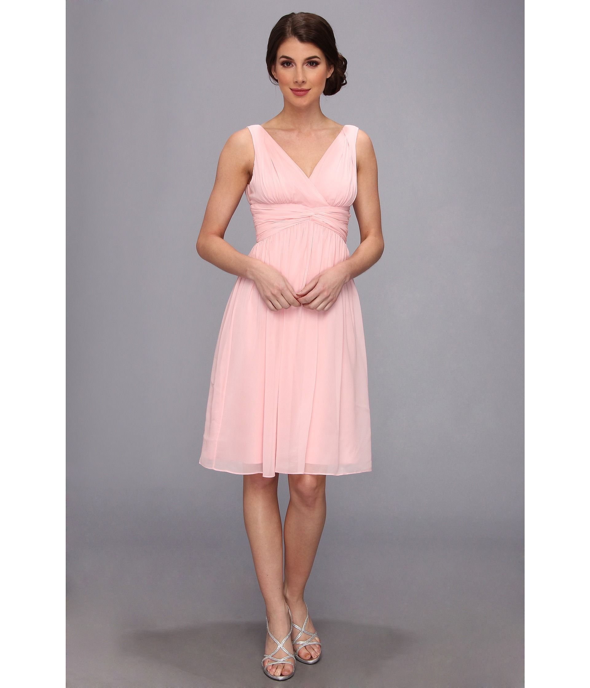 Formal pink dresses for women  Cora Skinner  cora skinner  Pinterest  Donna morgan Chiffon