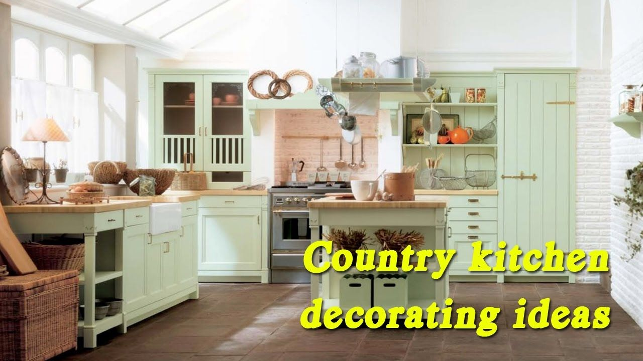 Country Kitchen Decorating Ideas Vintage Kitchen Decorating Ideas Ret Country Style Kitchen Green Country Kitchen Country Kitchen Farmhouse