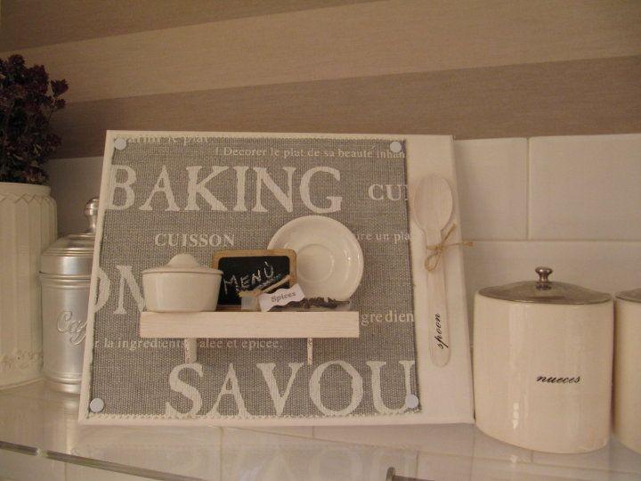 Como puedo decorar mi office de cocina que cuadritos puedo - Decorar office cocina ...